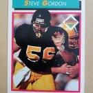 1992 Score #513 Steve Gordon New England Patriots Rookie