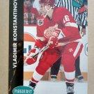 1991-92 Parkhurst #46 Vladimir Konstantinov Detroit Red Wings Rookie