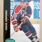1991-92 Parkhurst #54 Craig Simpson Edmonton Oilers