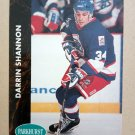 1991-92 Parkhurst #201 Darrin Shannon Winnipeg Jets