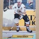 1992-93 Fleer Ultra #5 Stephen Leach Boston Bruins