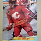 1992-93 Fleer Ultra #22 Gary Leeman Calgary Flames
