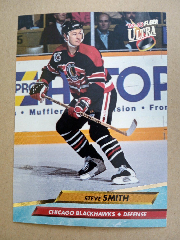 1992-93 Fleer Ultra #42 Steve Smith Chicago Blackhawks