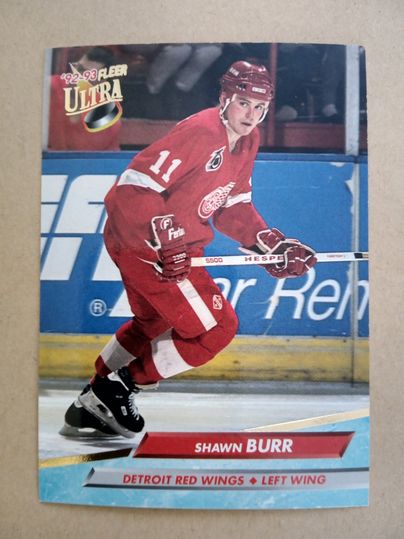 1992-93 Fleer Ultra #44 Shawn Burr Detroit Red Wings