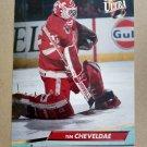 1992-93 Fleer Ultra #46 Tim Cheveldae Detroit Red Wings