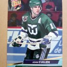 1992-93 Fleer Ultra #72 John Cullen Hartford Whalers