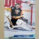 1992-93 Fleer Ultra #206 Wendell Young Tampa Bay Lightning
