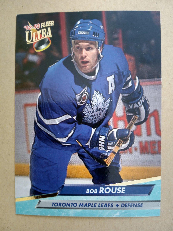 1992-93 Fleer Ultra #214 Bob Rouse Toronto Maple Leafs