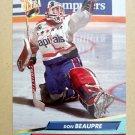 1992-93 Fleer Ultra #229 Don Beaupre Washington Capitals