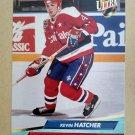 1992-93 Fleer Ultra #231 Kevin Hatcher Washington Capitals