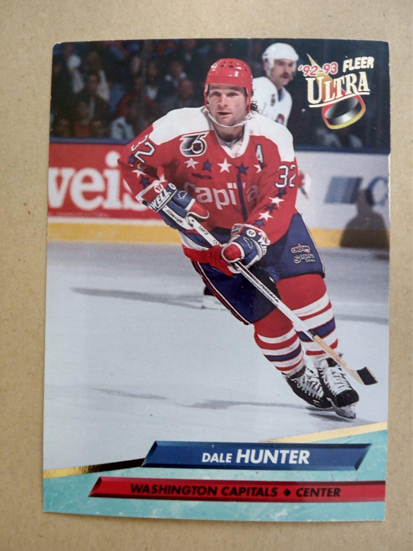 1992-93 Fleer Ultra #232 Dale Hunter Washington Capitals