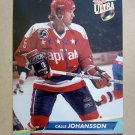 1992-93 Fleer Ultra #234 Calle Johansson Washington Capitals