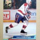 1992-93 Fleer Ultra #235 Dimitri Khristich Washington Capitals