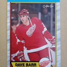 1989-90 O-Pee-Chee #13 Dave Barr Detroit Red Wings