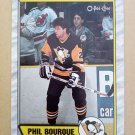 1989-90 O-Pee-Chee #19 Phil Bourque Pittsburgh Penguins