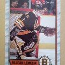 1989-90 O-Pee-Chee #40 Rejean Lemelin Boston Bruins