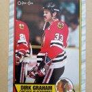 1989-90 O-Pee-Chee #52 Dirk Graham Chicago Blackhawks