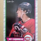 1989-90 O-Pee-Chee #53 Guy Carbonneau Montreal Canadiens