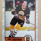 1989-90 O-Pee-Chee #62 Ken Linseman Boston Bruins