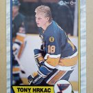 1989-90 O-Pee-Chee #64 Tony Hrkac St. Louis Blues