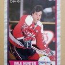 1989-90 O-Pee-Chee #76 Dale Hunter Washington Capitals
