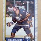 1989-90 O-Pee-Chee #78 Mike Foligno Buffalo Sabres