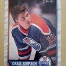 1989-90 O-Pee-Chee #99 Craig Simpson Edmonton Oilers