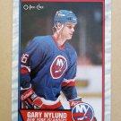 1989-90 O-Pee-Chee #105 Gary Nylund New York Islanders