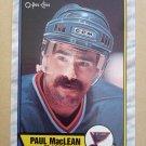 1989-90 O-Pee-Chee #129 Paul MacLean St. Louis Blues