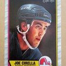 1989-90 O-Pee-Chee #130 Joe Cirella Quebec Nordiques