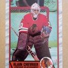 1989-90 O-Pee-Chee #132 Alain Chevrier Chicago Blackhawks