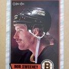 1989-90 O-Pee-Chee #135 Bob Sweeney Boston Bruins