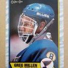 1989-90 O-Pee-Chee #137 Greg Millen St. Louis Blues