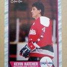 1989-90 O-Pee-Chee #146 Kevin Hatcher Washington Capitals