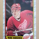 1989-90 O-Pee-Chee #151 Marc Habscheid Detroit Red Wings