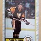 1989-90 O-Pee-Chee #152 Dan Quinn Pittsburgh Penguins