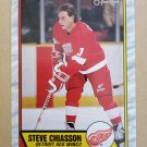 1989-90 O-Pee-Chee #164 Steve Chiasson Detroit Red Wings