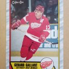 1989-90 O-Pee-Chee #172 Gerard Gallant Detroit Red Wings