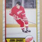 1989-90 O-Pee-Chee #225 John Chabot Detroit Red Wings