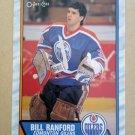 1989-90 O-Pee-Chee #233 Bill Ranford Edmonton Oilers