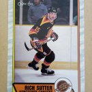1989-90 O-Pee-Chee #282 Rich Sutter Vancouver Canucks