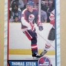 1989-90 O-Pee-Chee #290 Thomas Steen Winnipeg Jets