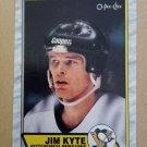 1989-90 O-Pee-Chee #295 Jim Kyte Pittsburgh Penguins