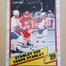 1989-90 O-Pee-Chee #329 Calgary Flames Stanley Cup