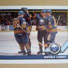 1991-92 O-Pee-Chee #32 Buffalo Sabres Team Card