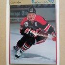 1991-92 O-Pee-Chee Premier #60 Steve Larmer Chicago Blackhawks