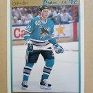 1991-92 O-Pee-Chee Premier #87 Pat MacLeod San Jose Sharks Rookie