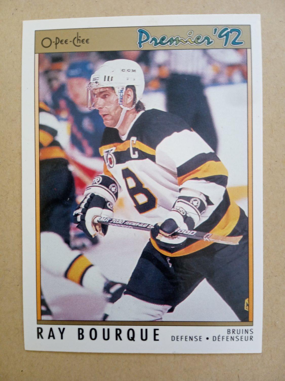 1991-92 O-Pee-Chee Premier #119 Ray Bourque Boston Bruins