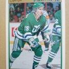 1991-92 O-Pee-Chee Premier #124 Barry Pederson Hartford Whalers