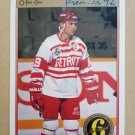 1991-92 O-Pee-Chee Premier #142 Steve Yzerman Detroit Red Wings